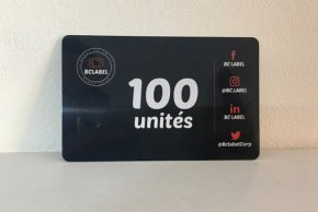 Carte 100 unites